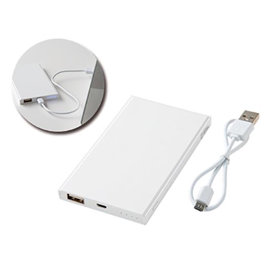 薄型 コンパクトバッテリー4000の画像 1