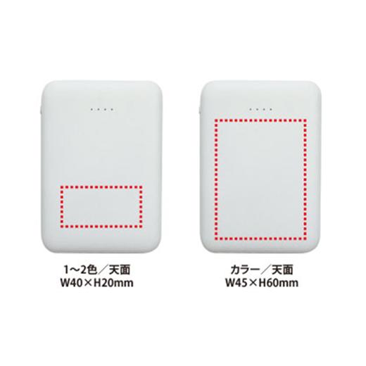 手のひらサイズ コンパクトバッテリー5000の画像 4