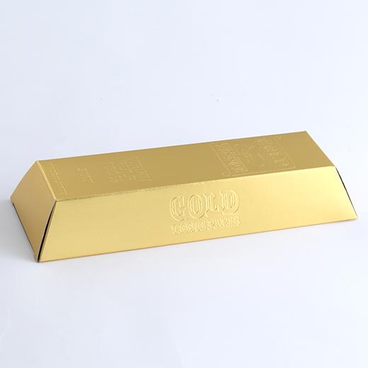 金塊型ゴールド BOXティッシュ平型30Wの画像 2